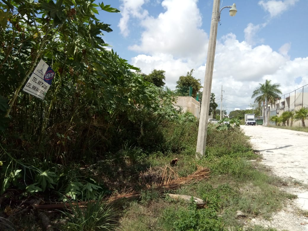 Terreno Venta Paseo del Real Av Huayacan Cancun 199m2