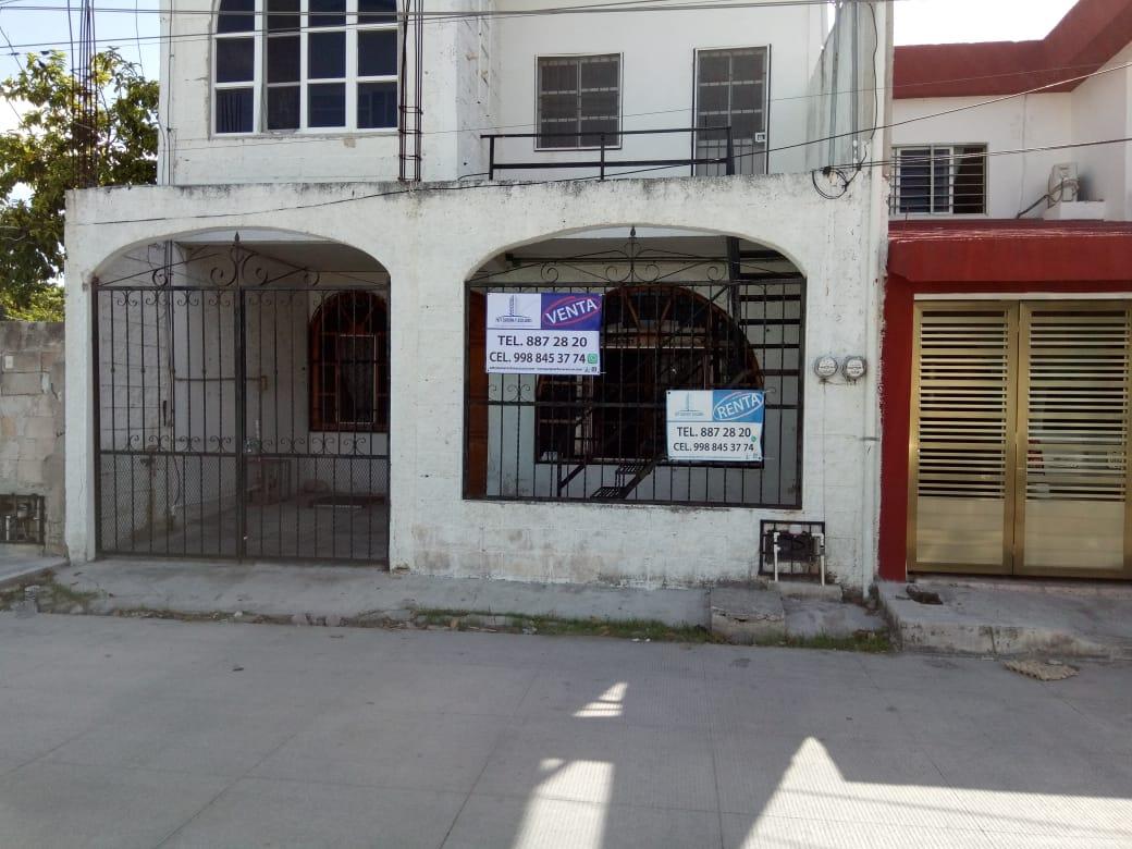 Casa habitación con 2 unidades Rentables Reg 94 Cancun