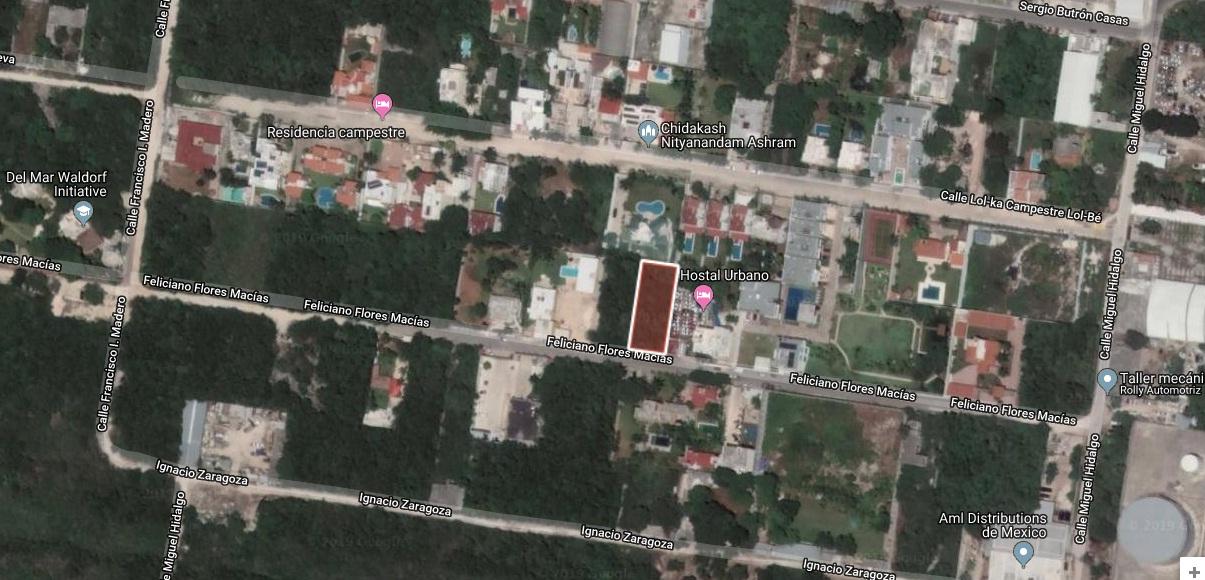 Terreno Venta en Cancún 1000m2 a 240m de LolBe