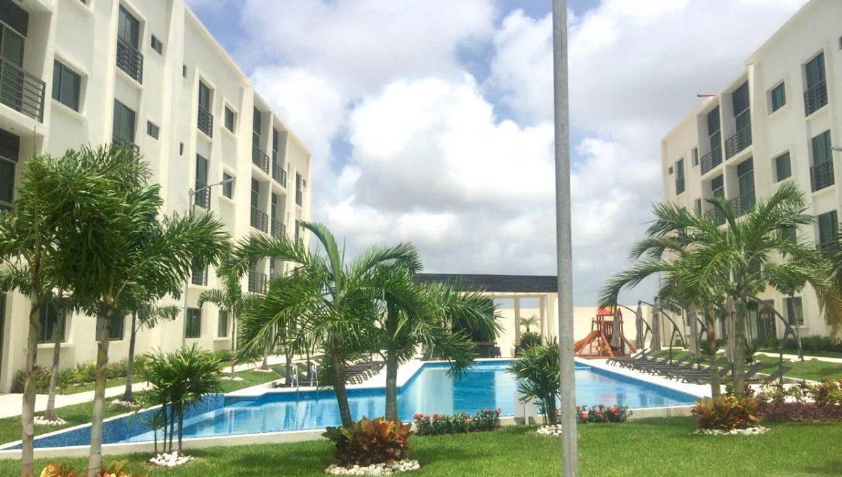 Departamento en Venta en Cancun 3rec alberca seguridad Soho Residencial
